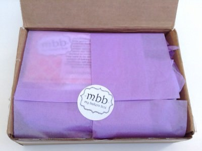 My Bakers Box Review – April 2014