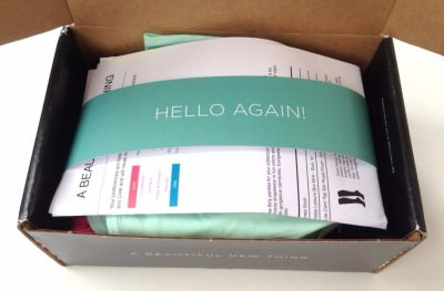 Wantable Intimates Box Review – March 2014