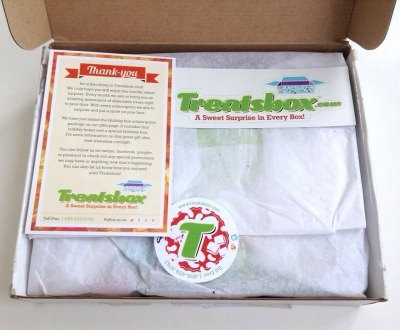 Treatsbox Review – April 2014
