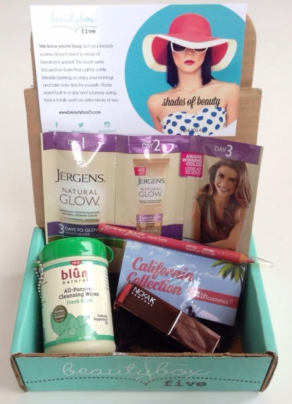 Beauty Box 5 Review – April 2014