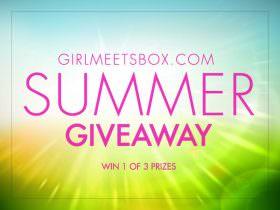 Girl Meets Box Summer GIVEAWAY