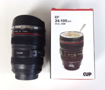 Camera Lens Mug from the T-Pain Fancy Box Review