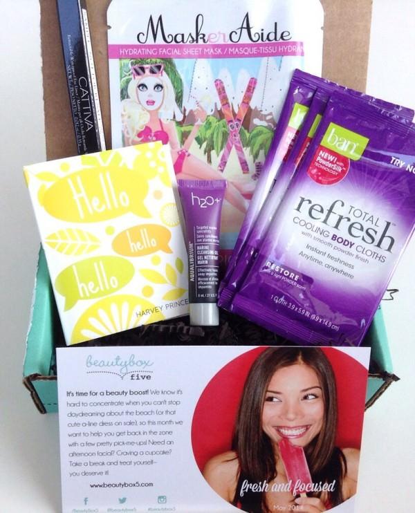 Beauty Box 5 Review – May 2014