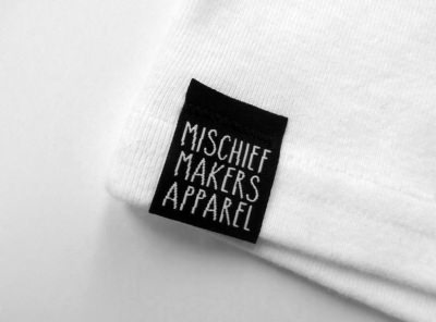 Mischief Makers Apparel tag