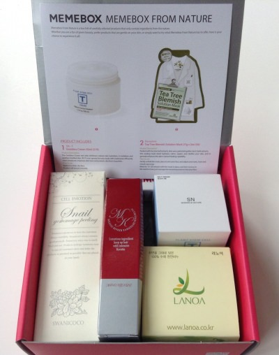 Memebox from Nature Review + Coupon Codes – June 2014