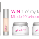Miracle 10 Skincare Review + Discount & GIVEAWAY!