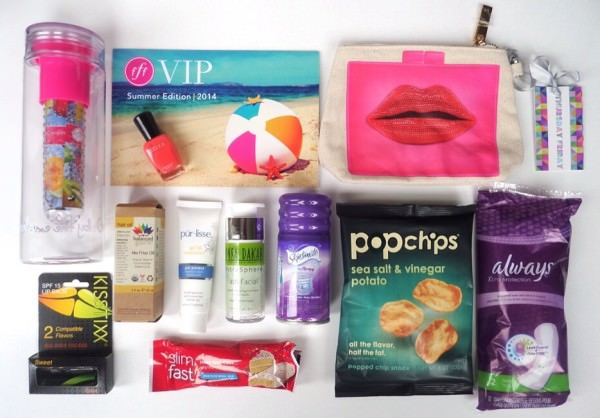 box that has the hottest seasonal items in beauty, fitness