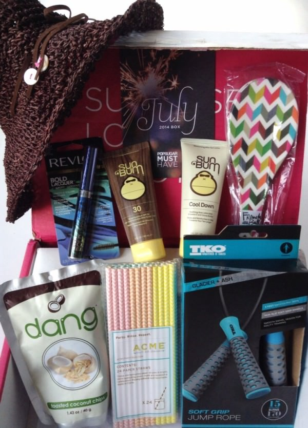 POPSUGAR Must Have Box Review + Promo Code – July 2014