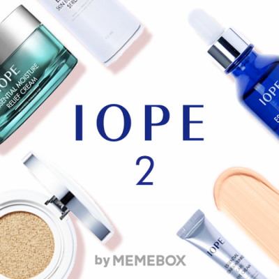 Memebox Exclusive Offer for IOPE Box 1 and IOPE Box 2!