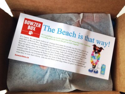 Bowzer Box Review + Discount Code – August 2014