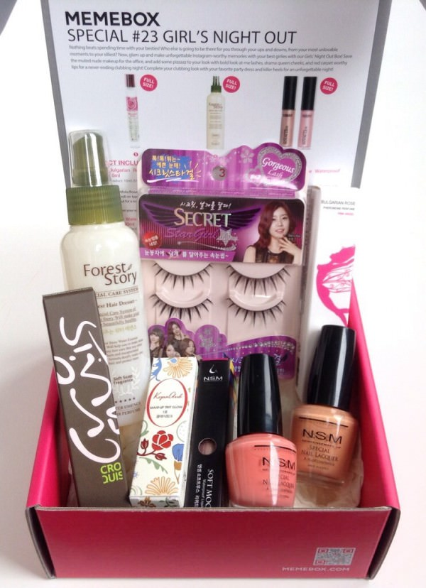 Memebox Girl's Night Out Review + Promo Codes – August 2014