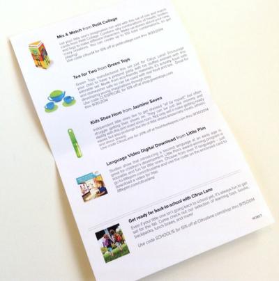 Citrus Lane Review + Coupon Code – August 2014