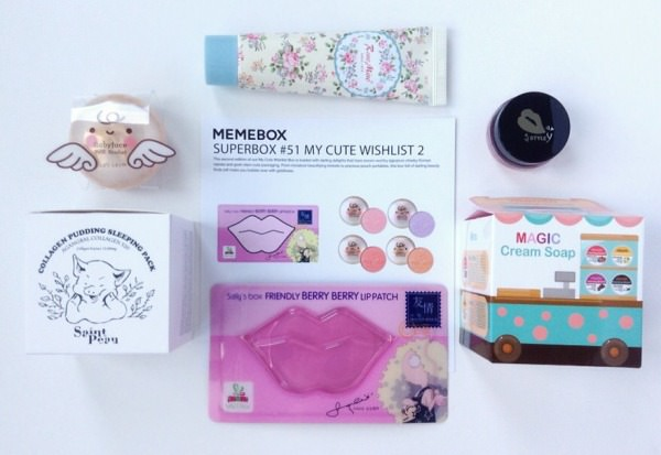 Memebox Superbox #51 My Cute Wishlist 2 Review + Promo Codes