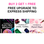 Memebox 3 New Colourboxes – Buy 2 Get 1 FREE!