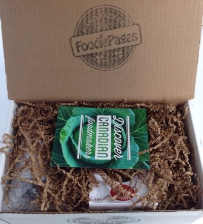 The Tasting Box by Foodie Pages Review + Discount – September 2014