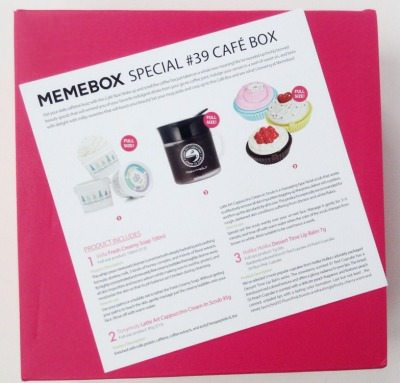 Memebox Special #39 Cafe Box Review + Promo Codes