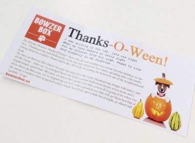 Bowzer Box Review + Discount Code – October 2014