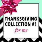 Memebox Thanksgiving Box Collection + Promo Codes
