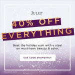Julep Friends & Family Sale – 40% Off Everything!