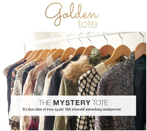 Golden Tote – January The Mystery Tote Details!
