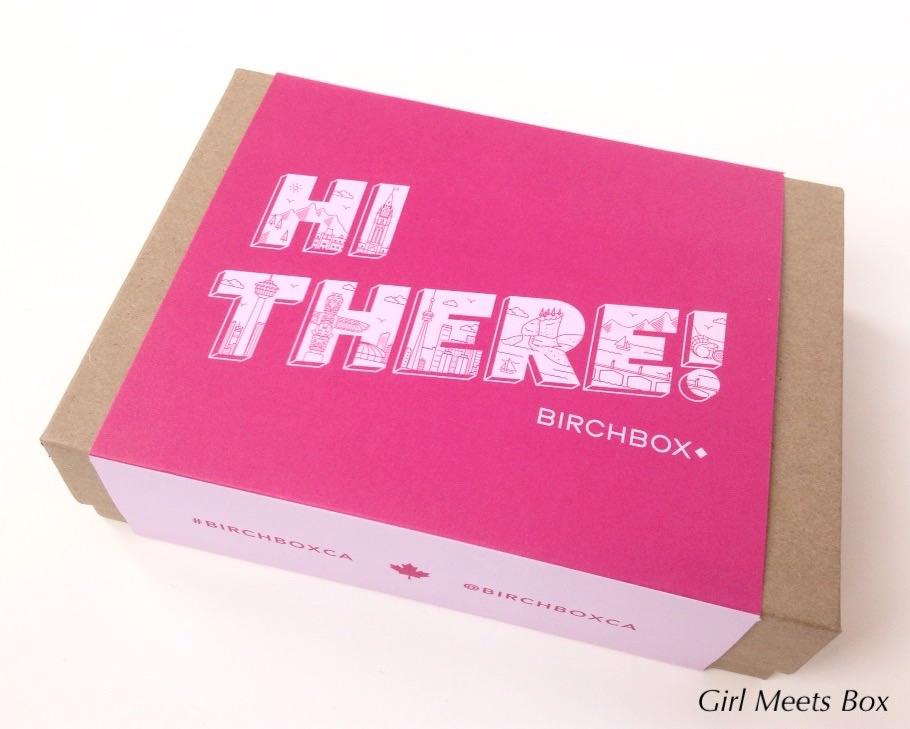 Birchbox Canada Review - December 2014   Girl Meets Box