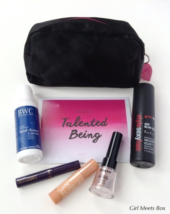 ipsy Glam Bag Review – December 2014