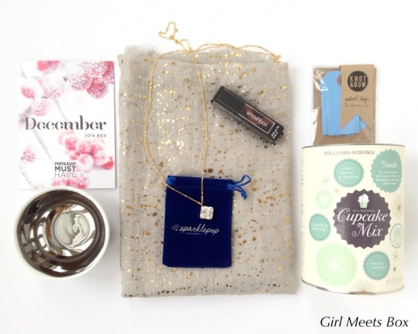 POPSUGAR Must Have Box Review + Promo Code – December 2014