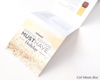 POPSUGAR Special Edition Must Have Holiday For Her Review + Promo Code – December 2014