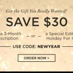 POPSUGAR Must Have Box $30 Off Promo Code!