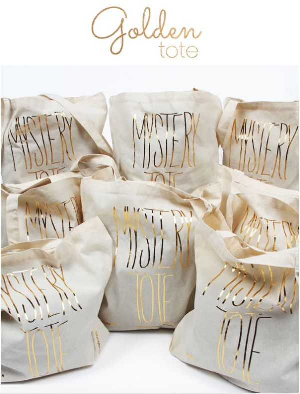 Golden Tote Mystery Tote (Size XS) On Sale Today!
