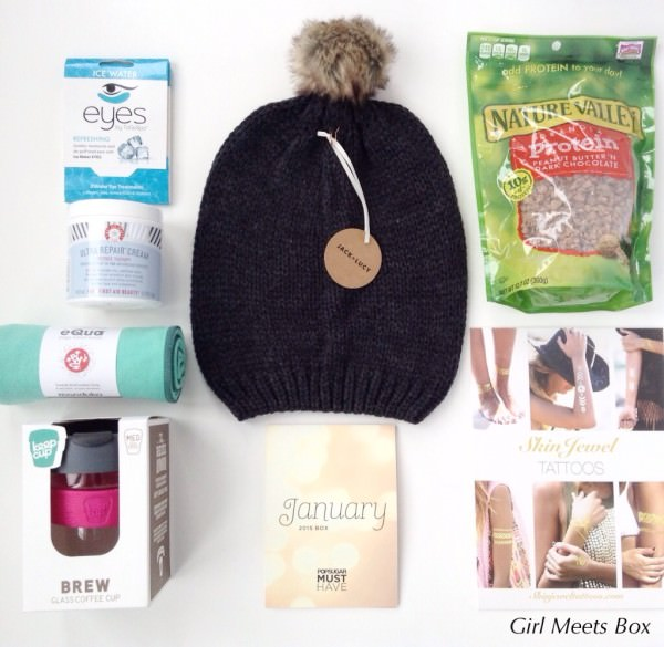 POPSUGAR Must Have Box Review + Promo Code – January 2015