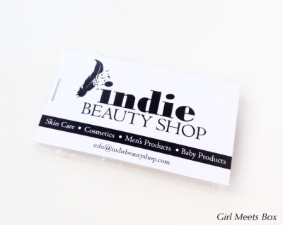 Indulge Me Box Review + Coupon Code – January 2015