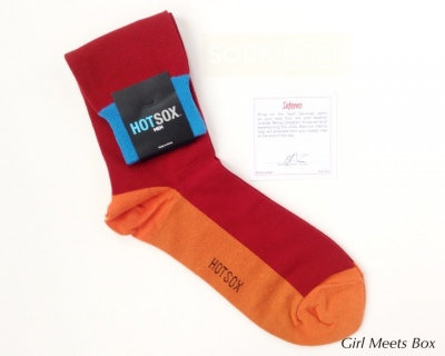 Sock Box Review + Coupon Code & GIVEAWAY – December 2014
