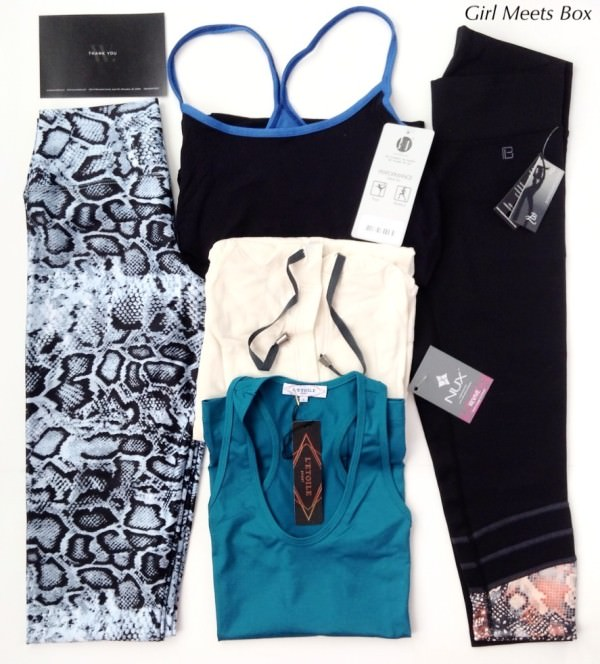 Wantable Fitness Edit Review – January 2015