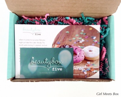 Beauty Box 5 Review + Coupon Code – February 2015