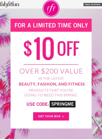 FabFitFun VIP $10 Off Code + Spring Box Spoilers!