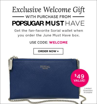POPSUGAR Must Have Box Review + Promo Code – April 2015