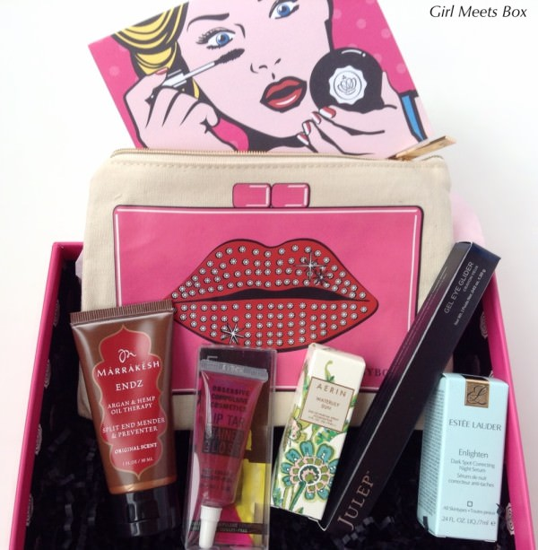 Glossybox Review + Promo Code – April 2015