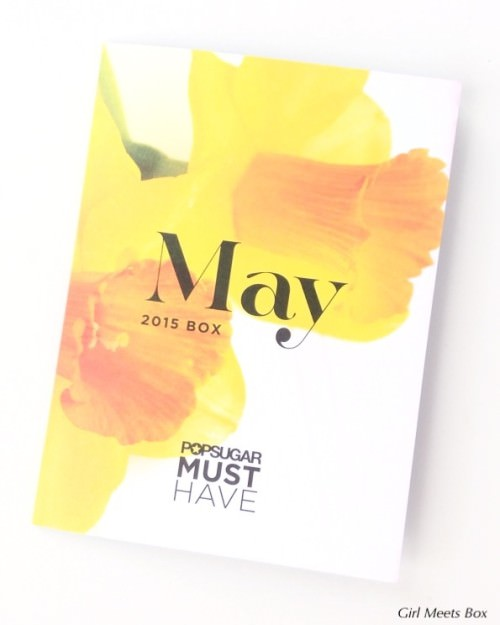 POPSUGAR Must Have Box Review + Promo Code – May 2015