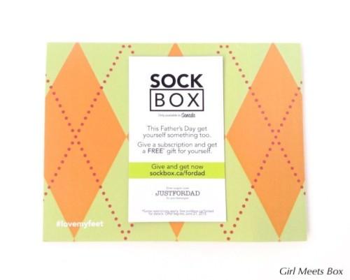Sock Box Review + Coupon Code – May 2015