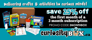 Sign up to CuriosityBox.ca