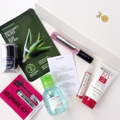 Luxe Box Summer 2015 Review + Discount