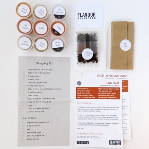 Flavour Delivered Review – July 2015