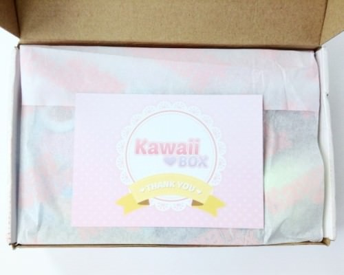 Kawaii Box Review + GIVEAWAY – June 2015