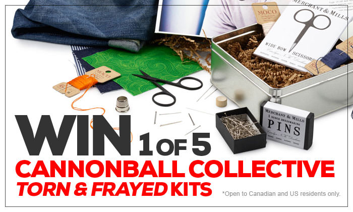 Cannonball Collective Torn & Frayed Kit Giveaway!