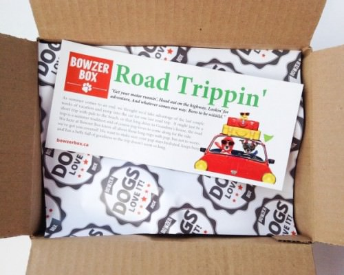 Bowzer Box Review + Discount Code – August 2015