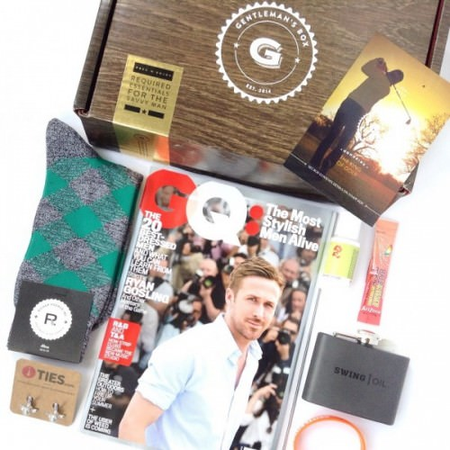 Gentleman's Box Review – July 2015