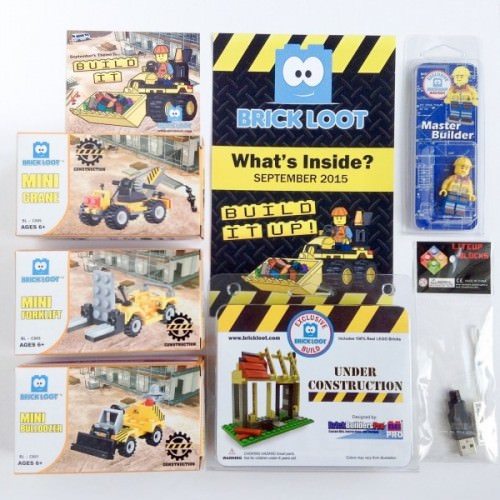 Brick Loot Review + Coupon Code & GIVEAWAY – September 2015