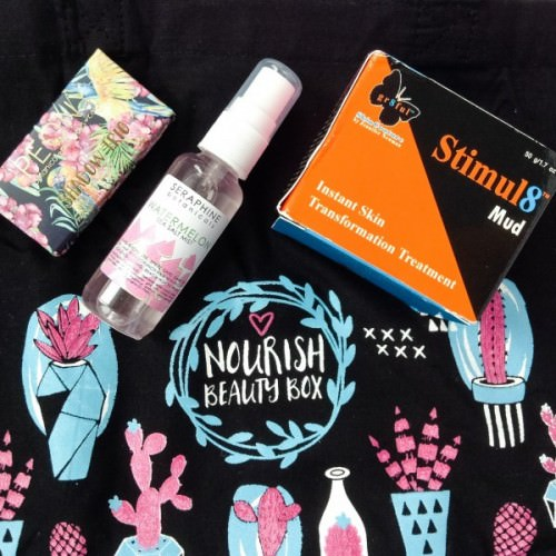 Nourish Beauty Box Review – October 2015