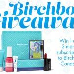 Birchbox Canada Giveaway!